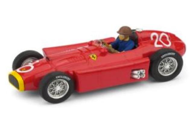 [予約] ブルム 1/43 フェラーリ D50 モナコGP 1956 2nd J.M.ファンジオ (ドライバーフィギュア付) R127CH
