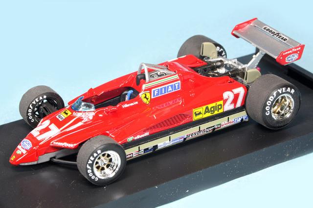ブルム 1/43 フェラーリ 126C2 ターボ サンマリノGP 1982 G.ビルヌーブ R267