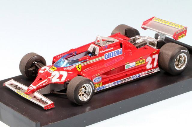 ブルム 1/43 フェラーリ 126CK ターボ モナコGP 1981 Winner G.ビルヌーブ R367