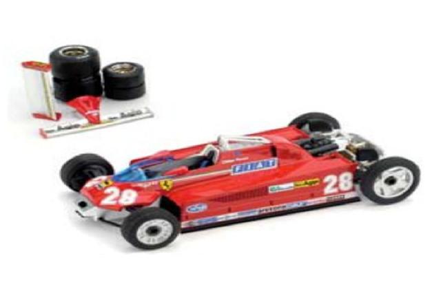 [予約] ブルム 1/43 フェラーリ 126CK ターボ モナコGP 1981 Winner 1981 G.ビルヌーブ (輸送Ver.) R367T
