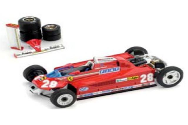 [予約] ブルム 1/43 フェラーリ 126CK ターボ モナコGP 1981 4th 1981 D.ピローニ (輸送Ver.) R368T