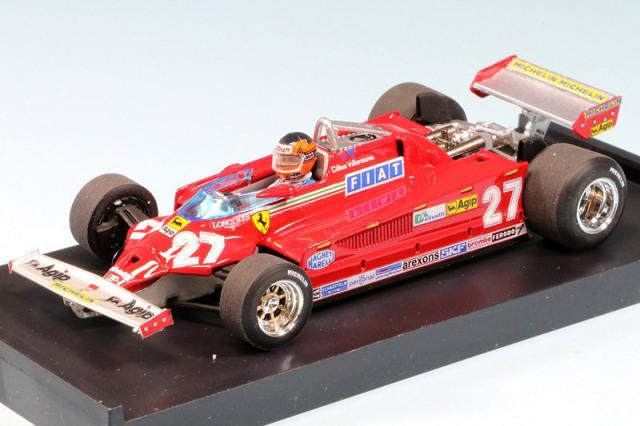 ブルム 1/43 フェラーリ 126C2 イタリアGP 1981 G.ビルヌーブ (ドライバーフィギュア付) R390-CH