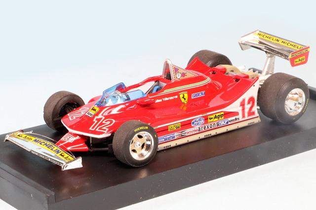 ブルム 1/43 フェラーリ 312 T4 フランスGP 1979 2nd G.ビルヌーブ R512
