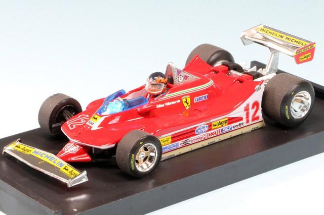 ブルム 1/43 フェラーリ 312 T4 U.S.A.GP 1979 G.ビルヌーブ (ドライバーフィギュア付) R578-CH