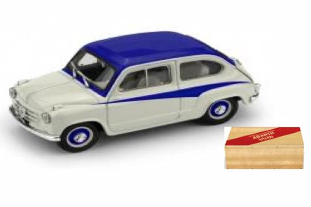 [予約] ブルム 1/43 フィアット 600 DERIVAZIONE アバルト 750 1956 グレー/ブルー R645-02