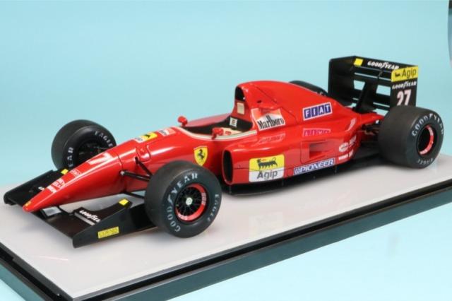 個人製作完成品 委託販売品 1/20 フェラーリ F92AT 日本GP 1992 J.アレジ RF5008TKD