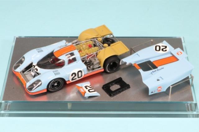 受注製作になります。ロムファクトリー 1/43 ポルシェ 917K ルマン 1970 栄光のルマン仕様 スティーブ・マックイーン  (役名:マイケル・ディレイニー) RFK602