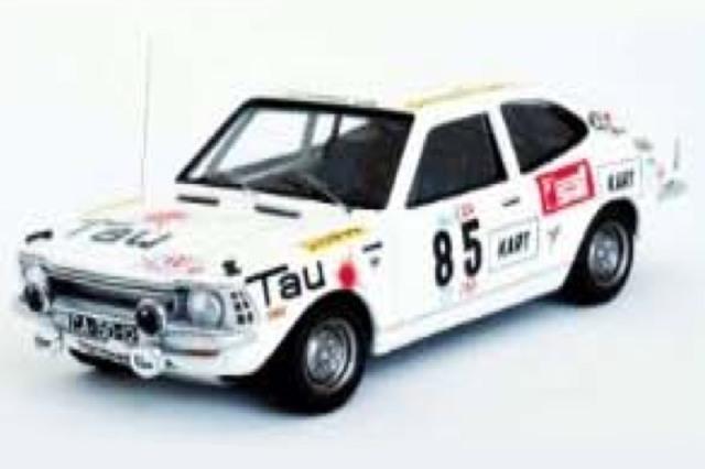 [予約] トロフュー 1/43 トヨタ カローラ 1200 TAPラリー 1973 18th No.85 RRal105
