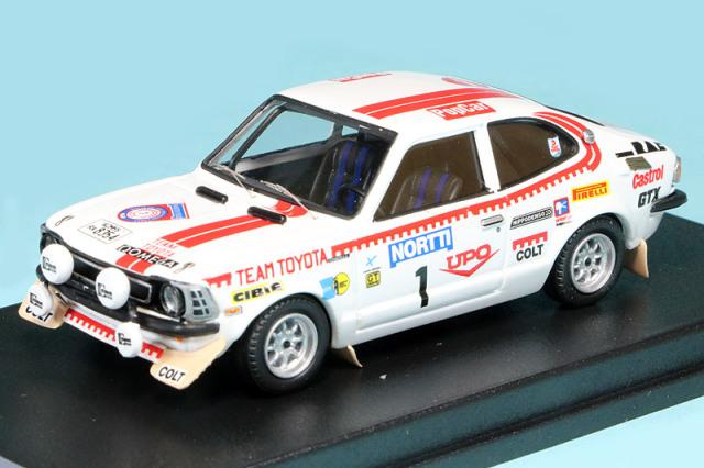 トロフュー 1/43 トヨタ カローラ レビン 1000湖ラリー 1975 Winner No.1 RRfi11