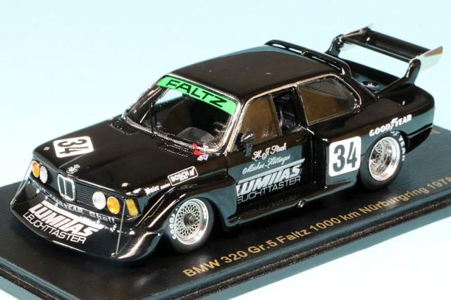 レースランド特注スパーク 1/43 BMW 320 Gr.5 WSC ニュルブルクリンク 1000km 1978 No.34 RS1734