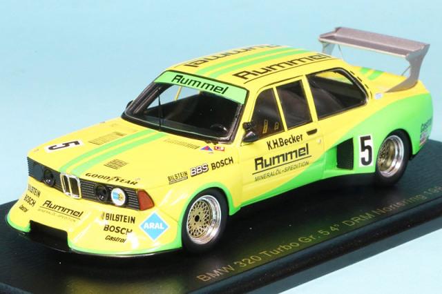 レースランド特注スパーク 1/43 BMW 320 ターボ Gr.5 DRM ノリスリンク 1981 4th No.5 RS1735