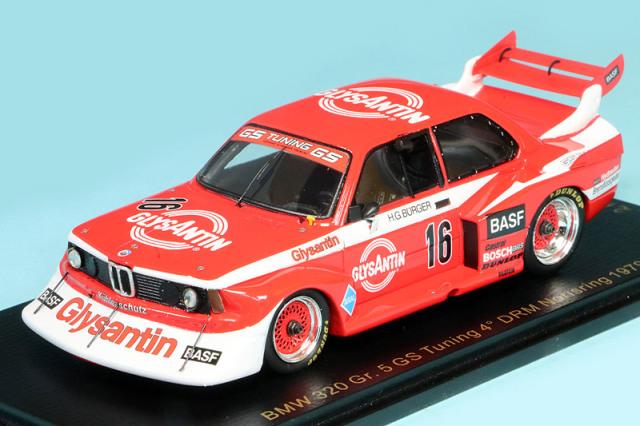 レースランド特注スパーク 1/43 BMW 320 Gr.5 DRM ノリスリンク 1979 4th No.16 RS1736