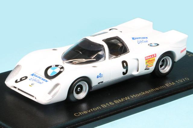 レースランド特注スパーク 1/43 シェブロン B16 BMW Koepchen BMW アイフェラント ESC ホッケンハイム 1970 No.9 RS1744