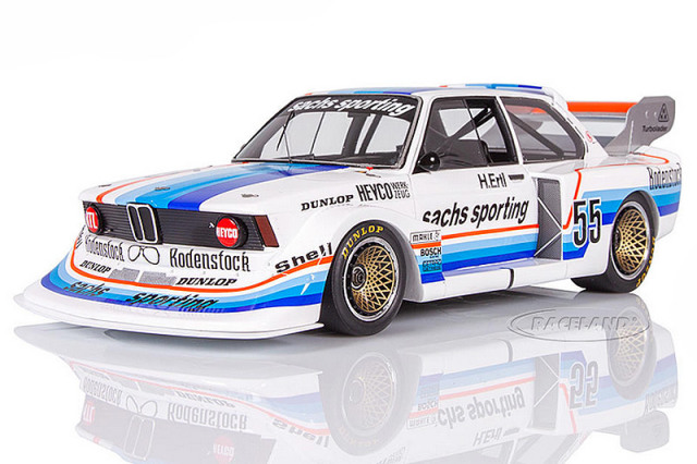 レースランド特注スパーク 1/18 BMW 320 ターボ Div.2 ノリスリンク 1978 チャンピオン No.55 RS18443