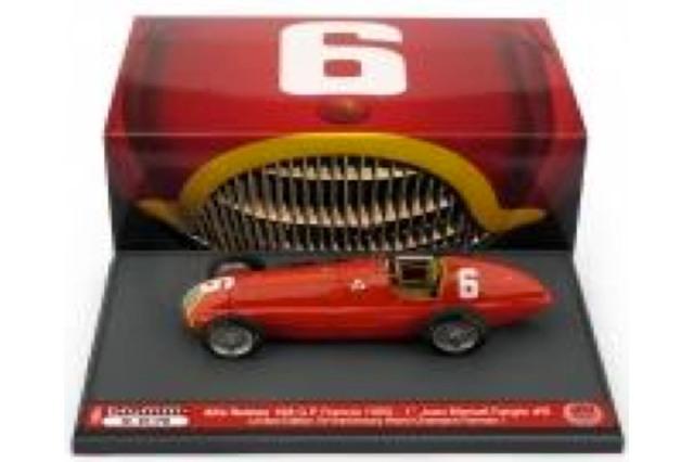 [予約] ブルム 1/43 アルファ ロメオ 158 フランスGP 1950 Winner J.M.ファンジオ S054