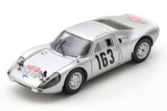 [予約] スパーク 1/43 ポルシェ 904 カレラ GTS モンテカルロラリー 1965 No.163 S0906