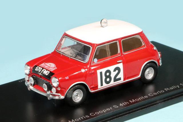 スパーク 1/43 モーリス クーパー S モンテカルロ 1964 No.182 S1191