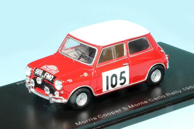 スパーク 1/43 モーリス クーパー モンテカルロ 1964 No.105 S1192