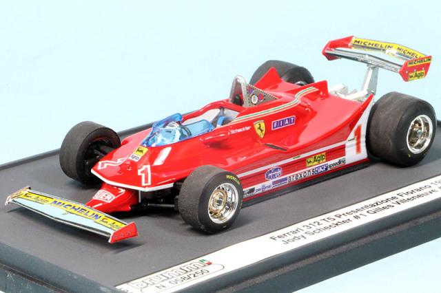 ブルム 1/43 フェラーリ 312 T5 1980 フィオラノ プレゼンテーション J.シェクター/G.ヴィルヌーブ S17-01