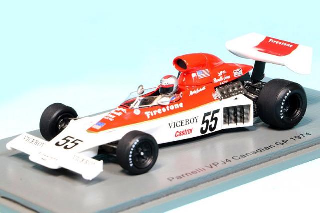 スパーク 1/43 パーネリ VPJ4 カナダGP 1974 M.アンドレッティ S1890