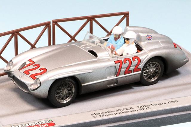 ブルム 1/43 メルセデス 300 SLR ミレミリア 1955 Winner No.722 S20-17