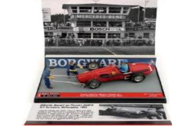 [予約] ブルム 1/43 フェラーリ 500 F2 ニュルブルクリンクGP 1953 A.アスカリ (ドライバーフィギュア付) S2012