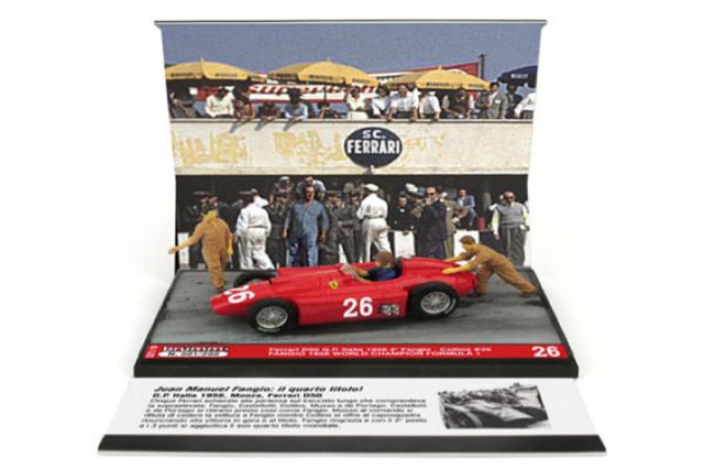 [予約] ブルム 1/43 フェラーリ D50 イタリアGP 1956 2nd J.M.ファンジオ S21-10