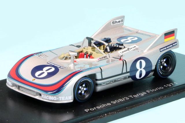 スパーク 1/43 ポルシェ 908/3 タルガフローリオ 1971 No.8 S2332