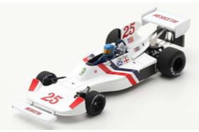 [予約] スパーク 1/43 ヘスケス 308 U.S.GP 1975 B.ランガー S2468