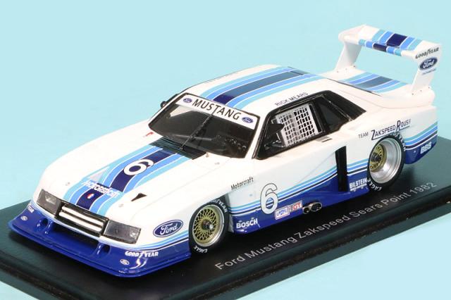 スパーク 1/43 フォード マスタング ザクスピード ポイントシリーズ 1982 No.6 S2630