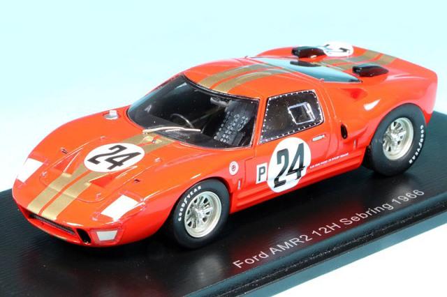 スパーク 1/43 フォード GT40 AMR2 セブリング 1966 No.24 S2772
