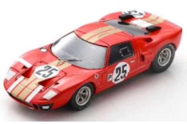 [予約] スパーク 1/43 フォード GT40 AMR2 セブリング 12h 1966 No.25 S2773