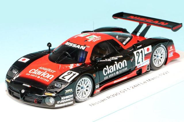 スパーク 1/43 ニッサン R390 GT1 ルマン 24h 1997 No.21 S3577