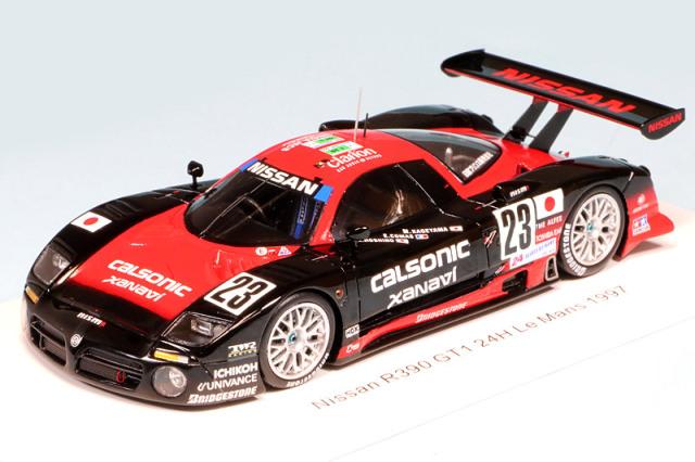 スパーク 1/43 ニッサン R390 GT1 ルマン 24h 1997 No.23 S3579