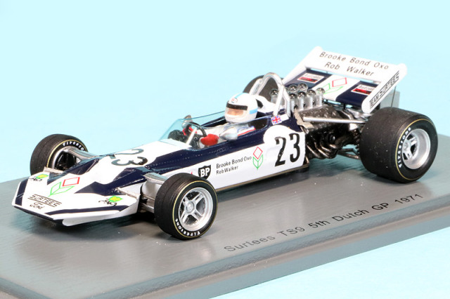 スパーク 1/43 サーティス TS9 オランダGP 1971 J.サーティス S4014