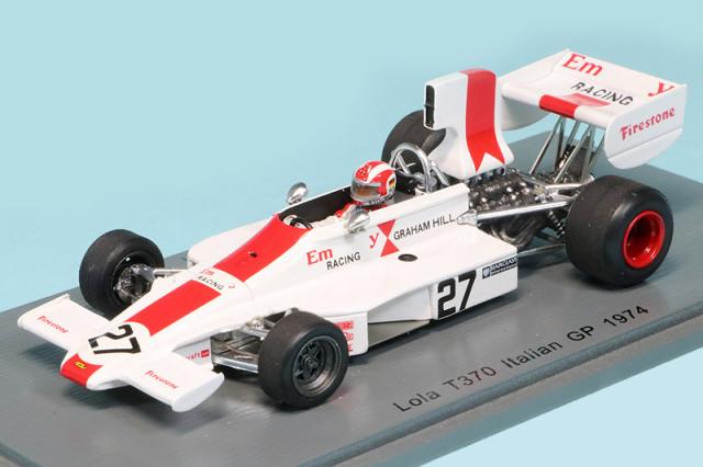 スパーク 1/43 ローラ T370 イタリアGP 1974 R.シュトレメン S4354