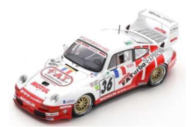 [予約] スパーク 1/43 ポルシェ 911 GT2 Evo ルマン 24h 1995 No.36 S4445