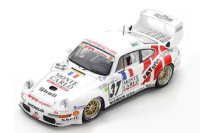[予約] スパーク 1/43 ポルシェ 911 GT2 Evo ルマン 24h 1995 No.37 S4446