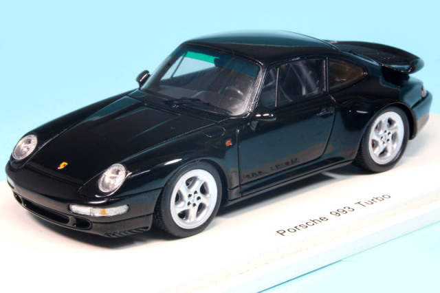 スパーク 1/43 ポルシェ 993 ターボ 1996 ブラック S4476