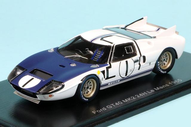 スパーク 1/43 フォード GT40 MK2 ルマン 24h 1965 No.1 S4532