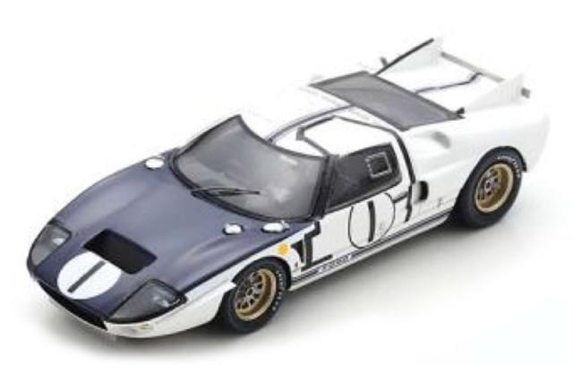 [予約] スパーク 1/43 フォード GT40 MK2 ルマン 24h 1965 No.1 S4532