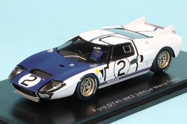 スパーク 1/43 フィード GT40 Mk.2 ルマン 24h 1965 No.2 S4533