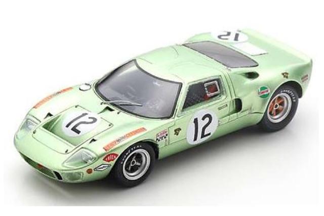 [予約] スパーク 1/43 フォード GT40 ルマン 24h 1968 No.12 S4539