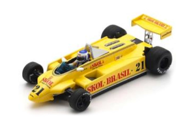 [予約] スパーク 1/43 フィッティパルディ F8 イタリアGP 1980 K.ロズベルグ S4581