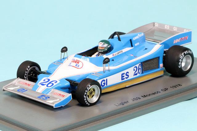 スパーク 1/43 リジェ JS9 モナコGP 1978 J.ラフィー S4816