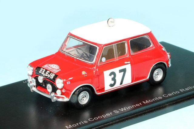 スパーク 1/43 モーリス クーパー S モンテカルロラリー 1964 Winner No.37 S4890