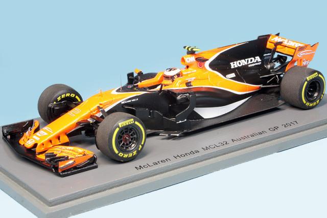 スパーク 1/43 マクラーレン MCL32 オーストラリアGP 2017 S.バンドーン S5041