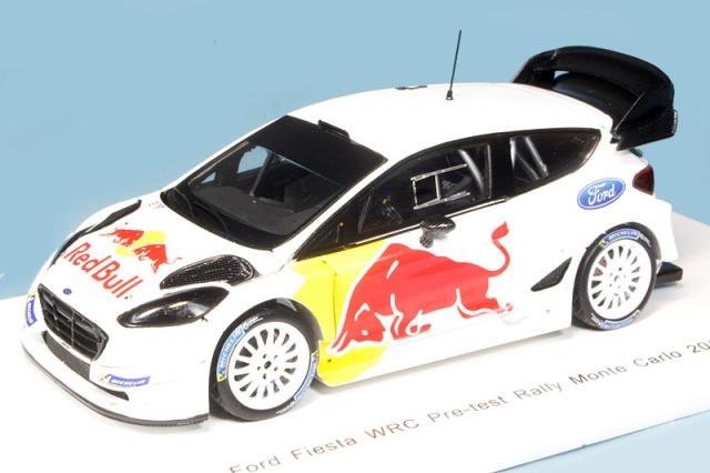 スパーク 1/43 フォード フィエスタ WRC 2018 テストカー S.オジェ S5172