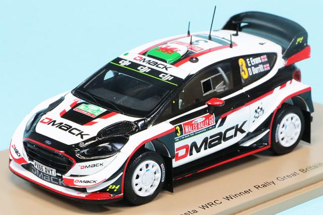 スパーク 1/43 フォード フィエスタ WRC グレートブリテン 2017 E.エバンス No.3 S5174