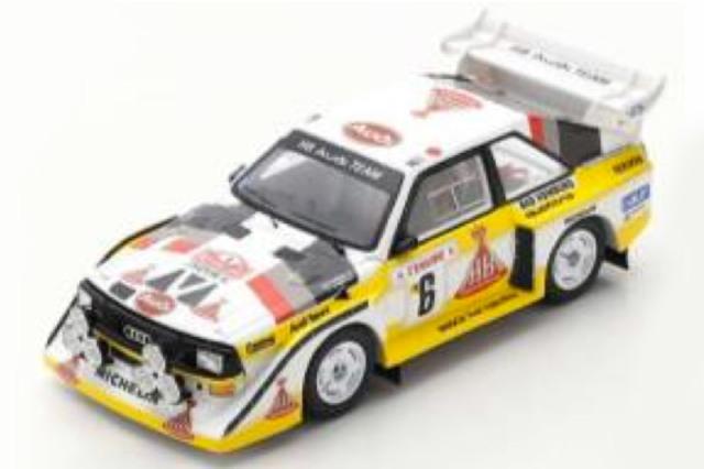 [予約] スパーク 1/43 アウディ スポーツ クアトロ S1 E2 モンテカルロラリー 1986 3rd No.6 S5191